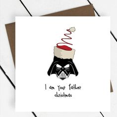 'I Am Your Father Christmas' Star Wars Card