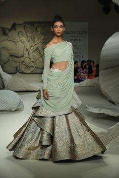 India Couture Week 2016 - Gaurav Gupta - Look 8Source: FDCI Facebook Page