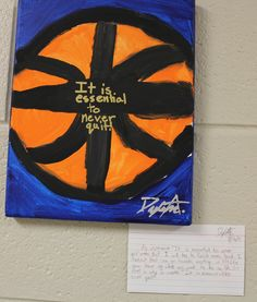 Children identified a quote that captured their hope and dream for the year and then wrote about it.  It's evident that this teacher engaged children in thoughtful reflection about their hopes for the school year.