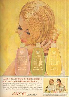 Avon Hi-Light Shampoo (May 1962)