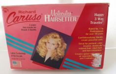 Richard CARUSO Happy 3 Way Traveler Molecular Hairsetter STEAM ROLLERS System