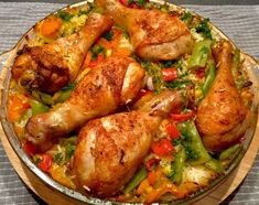 Zapiekanka ryżowo-warzywna z kurczakiem - Blog z apetytem High Carb Diet, Low Carb, Diets For Beginners, What To Cook, No Carb Diets, Turkey Recipes, Tandoori Chicken, I Foods, Chicken Wings