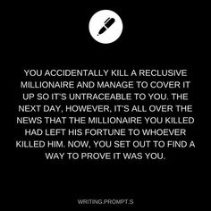 This, except the twist is: The Millionaire is actually immortal eg a vampire..? so he set up a trap for his killer so he can kill him.