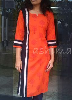 Printed Soft Cotton Kurta-Code:0509150 Price INR:890/- All sizes available. Free shipping to all courier destinations in India. Online payment through PayUMoney / PayPal
