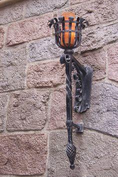 Other Architectural Antiques Art Deco Wall Sconces Rustic Suit Country House Cottage Castle ?? Architectural & Garden