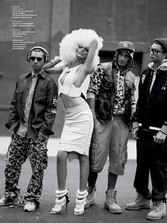 "V Magazine January 2012, ""The Queen of Hip-Hop"""