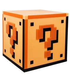 Power-up any room with this super-awesome Super Mario Question Block Light! We can\'t decide what we love the most about this lamp - the wicked 8-bit style design or how it lights up with just a touch - but we know our favourite part has to be the official \'ping\' sound it makes, straight from the games we all love so much. The coolest way to get some serious Nintendo nostalgia? There\'s definitely no question!