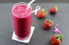 Strawberry Beet Smoothie Serves: 2   Ingredients 2 small Beets (cooked and peeled, roughly 4 ounces) 1 ½ cup Strawberries 2 medjool Dates (pitted) 1 cup Almond Milk 1 cup Ice