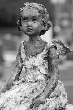 Père Lachaise Cemetery, Paris ………LITTLE FRENCH ANGEL IN HER LITTLE FRENCH FROCK………..ccp