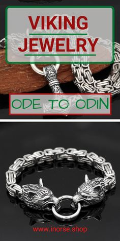 Viking Bracelet, Viking Jewelry, Metal Jewelry, Beaded Jewelry, Jewelry Rings, Handmade Jewelry, Jewlery, Mjolnir Pendant, Vegvisir