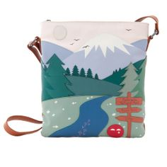 The Yoshi-Mite National Park Leather Across Body Bag - Autumn / Winter 2013