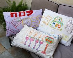Decorated Pillow Case. Give as a gift or just to have as a keepsake.