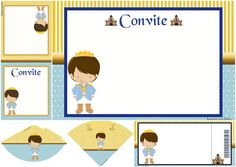 Charming Prince: Free Printable Invitations and Free Party Printables.