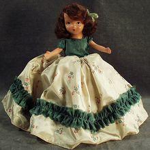 Vintage Nancy Ann Storybook Doll with November Lass Box