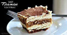 Easy 10 Minute Tiramisu (No-Bake Dessert) – Hip2Save