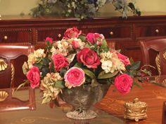 Rose and Hydrangea Floral Arrangement