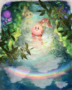 Kirby Memes, Kirby Nintendo, Super Mario Art, Anime Galaxy, Kawaii Illustration, Cute Cartoon, Cute Wallpapers, Cute Drawings, Animal Crossing