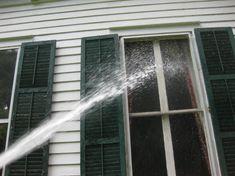 washing old windows
