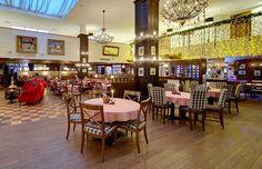 Solo Sokos Hotel Olympia Gardenin Fransmannissa voit herkutella ja jatkaa vaikka sen jälkeen hotellin Sport Bar 24:ään.