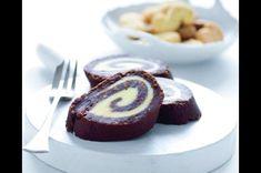 Nepečená roláda z esíček Cheesecake, Muffin, Breakfast, Food, Morning Coffee, Cheesecakes, Essen, Muffins, Meals