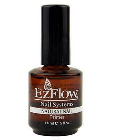 New 1pc 14ml Ezflow Natural Nails Primer Nail Art Tool Products Acrylic Base Coat For Uv