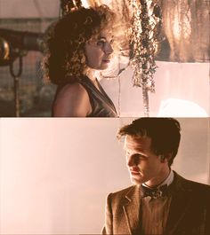 I love this set of images. #DoctorWho #EleventhDoctor #RiverSong