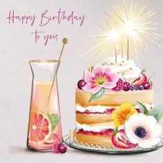 Happy Birthday Wishes Photos, Happy Birthday Celebration, Happy Birthday Wishes Cards, Happy Wishes, Happy Birthday Fun, Birthday Treats, Card Birthday, Birthday Celebrations, Happy Birthday Artist