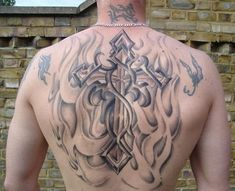 celtic cross tattoo with flame - 35  Awesome Celtic tattoo Designs | Art and Design