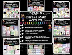 If you teach Engage NY or Eureka Math this is a MUST HAVE!!!OVER 300 pages!This…