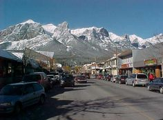 Canmore, Alberta...  I haven't lived here in over a decade and even then it was for 4 years, yet no one else on Earth makes me feel so at home as this special mountain town does.