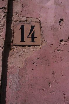 Number Wallpaper, Pink Wallpaper, Aesthetic Vintage, Pink Aesthetic, Countdown To Extinction, Pink Prints, Number 14, Italian Street, Bedroom Wall Collage