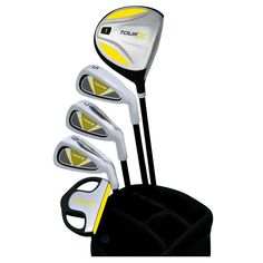 Merchants of Golf Tour X Right Hand 5-Club Junior Golf Club   Bag Set 5f149f178b75a