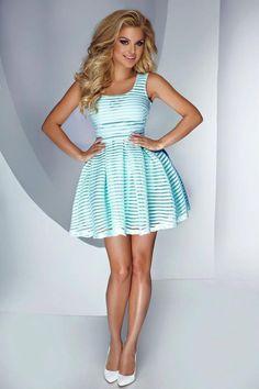 Sukienka Eliza błękitna