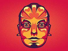 Crimson Robot  by Chris Rushing