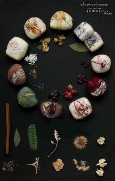 Botanical Felted Soaps | Flickr: Intercambio de fotos