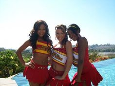 "From ""Bring It On - Fight To The Finish"".  (L-R: Christina Milan, Vanessa Born, Gabrielle Dennis)"