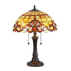 "CHLOE Lighting CH33313VA16-TL2 Table Lamp ""COOPER"""