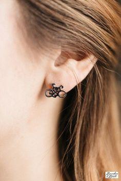 Bicycle Earrings image