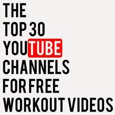 Diary of a Fit Mommy: Top YouTube Workout Channels