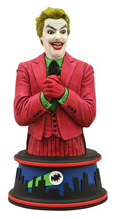 Diamond Select Toys: Batman Classic 1966 - Joker Bust
