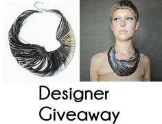 Slinky toy necklace, Funky Bijou is celebrating the arrival of new Designer Collections! Enter to win this gorgeous statement necklace by Emma Ware! Slinky Toy, Fun Stuff, Random Stuff, Albion Fit, Enter To Win, March 2014, Workout Wear, Designer Collection, Giveaway