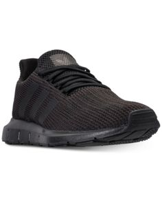 aac1950bdec8f adidas Men s Swift Run Casual Sneakers from Finish Line - Black 8.5 Casual  Sneakers