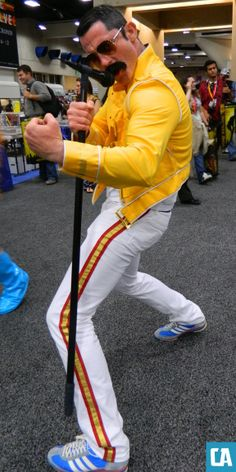 Comic-Con 2012 cosplay  - Freddie Mercury