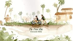 """Check out this @Behance project: """"The First Ride- CHARACTER BIBLE."""" https://www.behance.net/gallery/63015299/The-First-Ride-CHARACTER-BIBLE"""