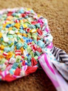 Rag Rug Braiding Looks Easier Than Crocheting Does