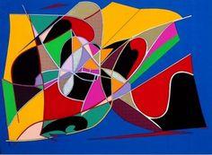 cuadros coloridos modernos grandes