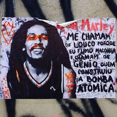 Frases irreverentes pelas ruas de são Paulo!! #sampacity #sampa #brasil #travelblog #travelaroundtheworld #backpacking #cities #graffiti #art #bobmarley #viaja #mochileiros #music