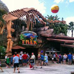 T-Rex at Downtown Disney