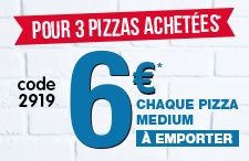 Commandez vos pizzas, pizzas, pizza à emporter, commande pizza - Domino's Pizza