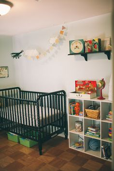 The Foxes  the Hound: Baby Boy's Nursery.  Thinking floating clouds would be cute